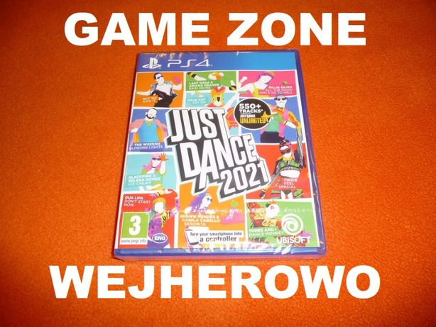 Just Dance 2021 PS4 + Slim + Pro = PŁYTA Wejherowo