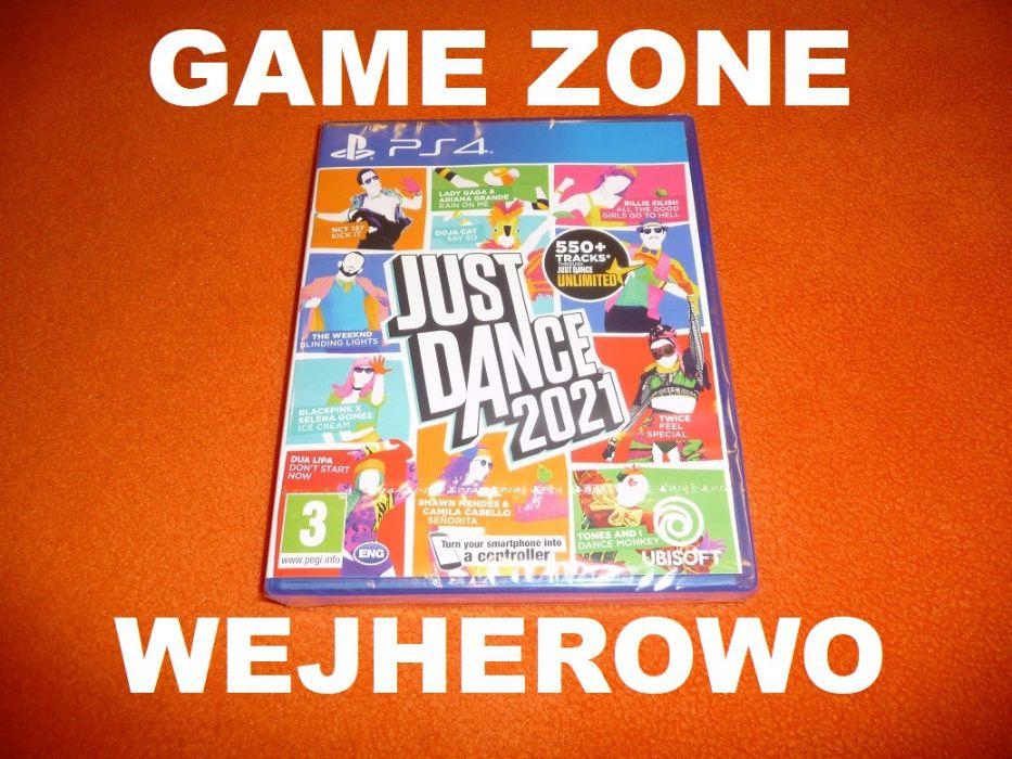 Just Dance 2021 PS4 + Slim + Pro = PŁYTA Wejherowo