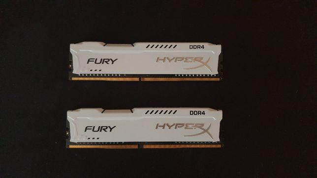 Оперативная память Kingston HyperX DDR4 2400 2×8Gb