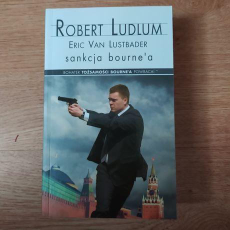"Książka ""Sankcja Bourne'a"" Robert Ludlum"
