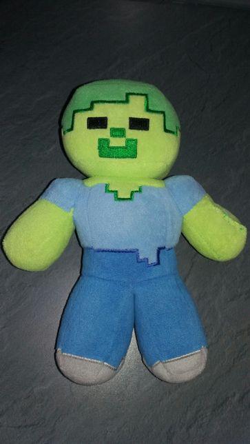 Maskotka Minecraft Zombie stan bdb