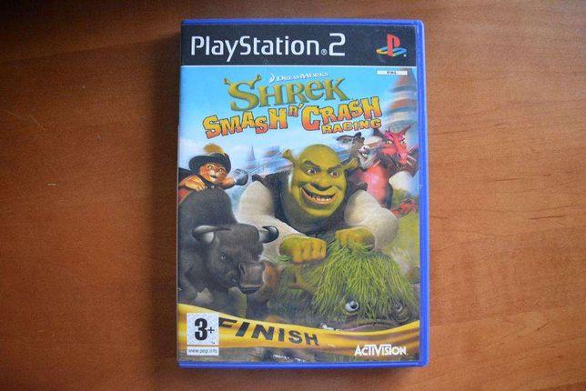 "Venda de jogo para PS2 ""Shrek Smash n'Crash Racing"""