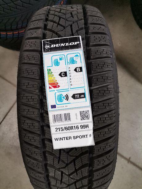215/60R16 99H Dunlop WINTER SPORT 5 XL Nowe 20rok