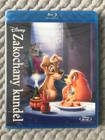 """Zakochany kundel"" - bajka Walta Disneya - Blu-ray - polski dubbing"