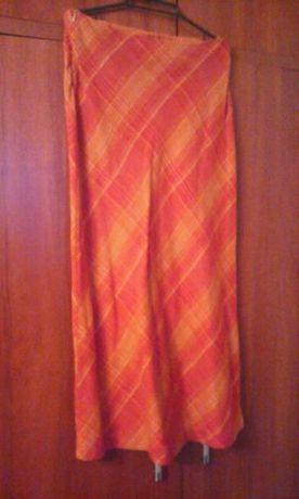 spódnica ruda długa