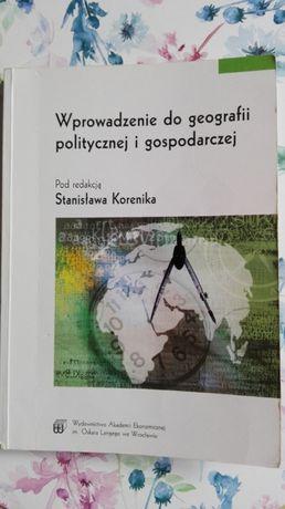 Książka Wprowadzenie do geografii politycznej i gospodarczej
