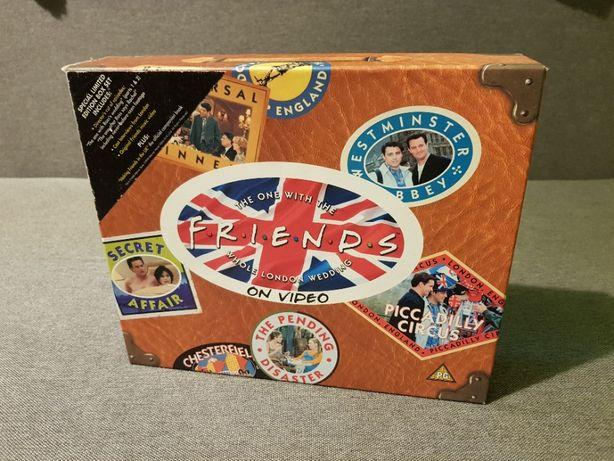 Limitowana edycja odcinków z Londynu serialu F.R.I.E.N.D.S. (VHS+książ