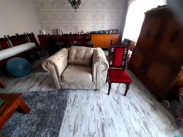 Fotel bardzo duży nowy