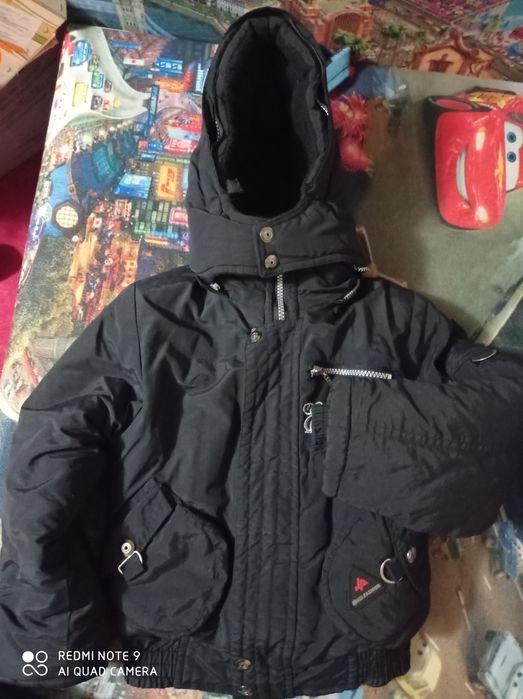 Куртка зимняя на рост 110-116 Бирочок - изображение 1