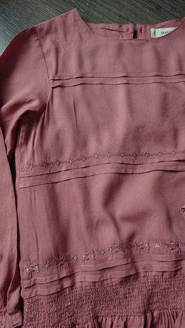 Nowa sukienka boho mango, rozm. 122 / 128