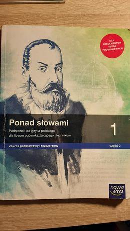 Ponad słowami 1 część 2 . Podręcznik do języka Polskiego