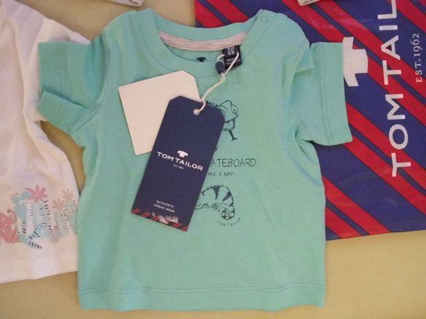 Bluzeczka Tom Tailor rozmiar 50/56 100% bawełna - Nowa