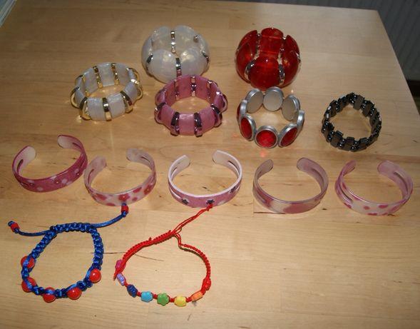 Zestaw bransoletek Bransoletki 13szt dla dziewczynki