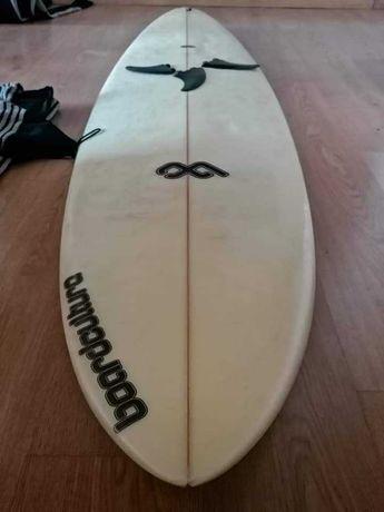6.8 Malibu Evolution Funboard Prancha de surf deck fins
