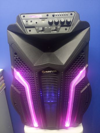 Głośnik Kolumna Manta Bluetooth LED
