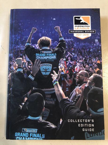 Książka Overwatch League Inaugural Season Collector's Edition Guid