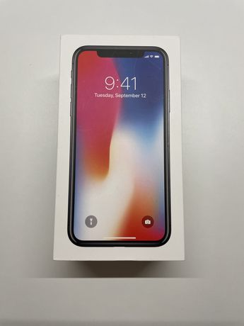 Iphone X / 10 Space Gray 64BG idealny stan + gratisy