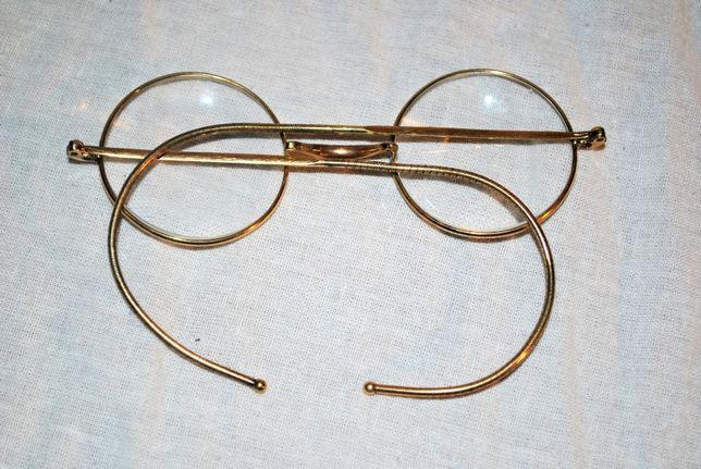 przedwojenne okulary firmy NIP STAN IGŁA