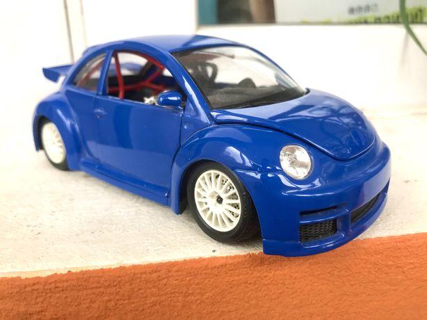 Модель автомобиля VW New Beetle Cup 1999, 1:24, Bburago, Италия