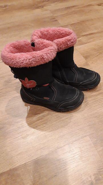 Buty kozaki śniegowce na zimę rozmiar 30!