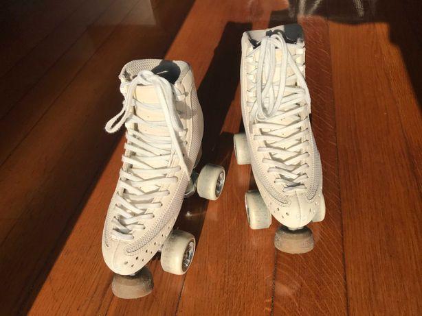 Patins de patinagem artística (tamanho 36)