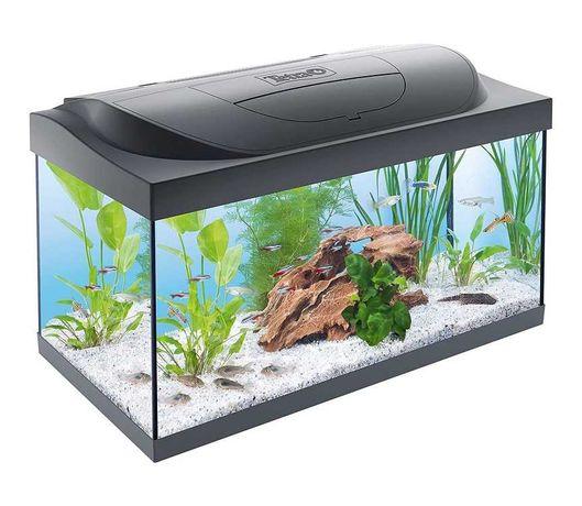 Markowe akwarium tetra 54l  filtr, grzałka lampa