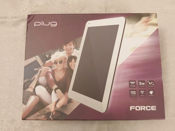 Tablet Plug Force + klawiatura