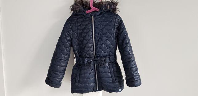 Kurtka zimowa Coccodrillo dla dziewczynki, rozmiar 116