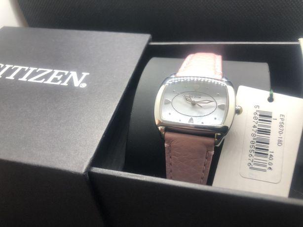 Relógio de senhora Citizen EP5670-18D novo na caixa.