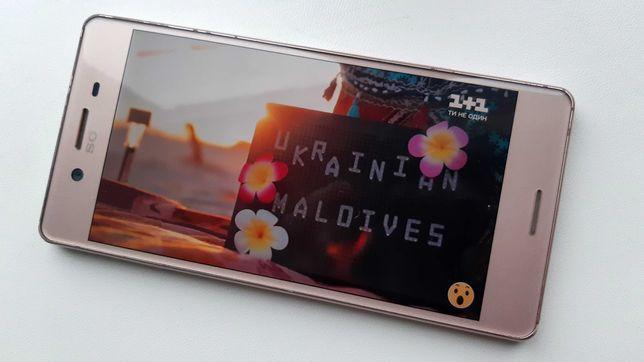 Sony Xperia X Dual Sim 3/64Gb Rose Gold (F5122) смартфон Сони
