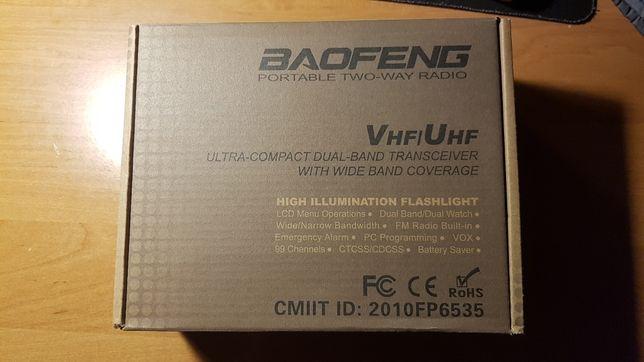 Krótkofalówka Baofeng uv-3r plus 2m/70cm walkie talkie