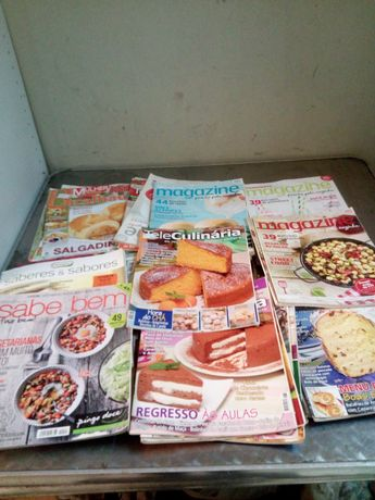 Revistas de culinária