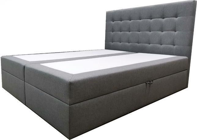 Łóżko Tapicerowane 90x200 Malaga Pikowane Sypialnia