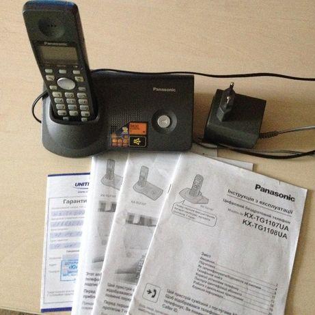 Радіотелефон Panasonic Kx-tg1107ua