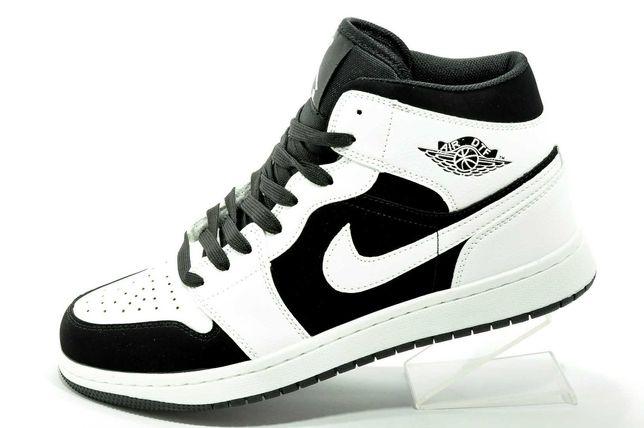 Кроссовки высокие Nike Air Jordan 1 Mid (Найк Джордан) мужские
