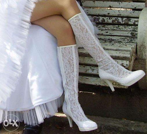 Весільні чобітки Luisa Peres