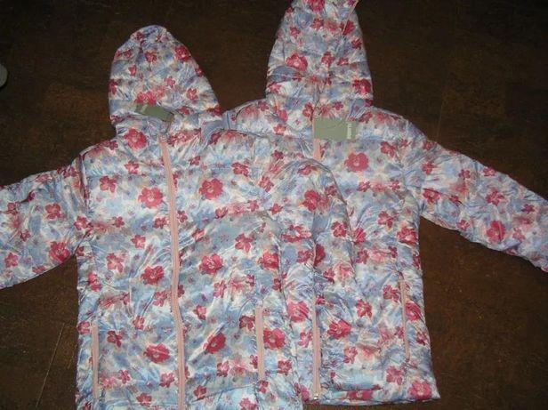 Цена снижена! Куртка деми демисезонная для девочки Pepperts близнецов