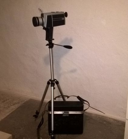 Camera filmar vintage para coleccionadores