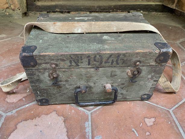 Ящик невелир 1946г.