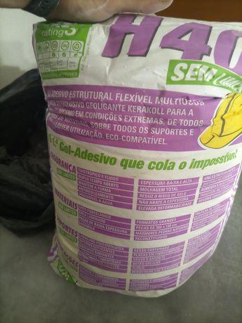 Cimento cola H40 SEM LIMITES BRANCO 25KG