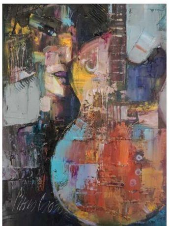 Tanio, Pitsko Giennadzi Zmysłowa muzyka 35x25 obraz olejny