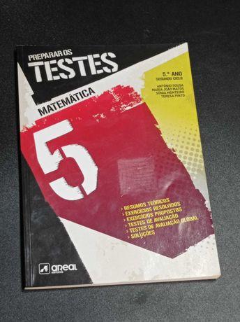 Livro de fichas de Matemática-5ºano