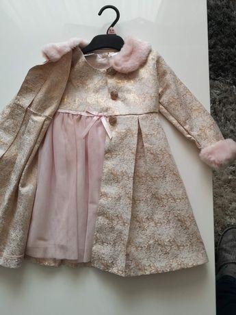 Плаття платтячко платье з плащиком 3т