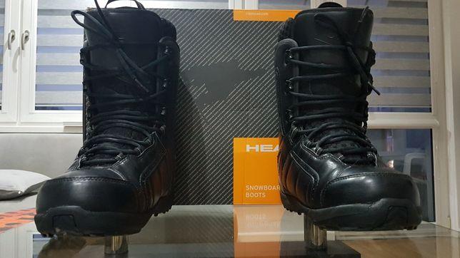 Buty snowboardowe HEAD classic r. 46 jak nowe