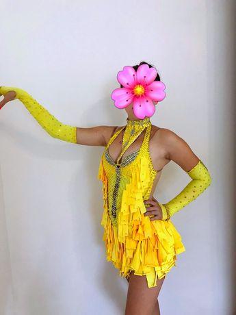Латиноамериканское платье для бал ных танцев