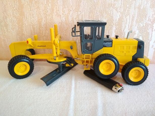Грейдер Трактор 1:43 Строительная Техника 1:43 (металл)