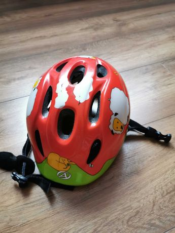 Kask na rower dla dziecka rozm. S  48-54 cm