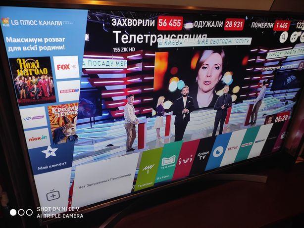Смарт телевизор LG49lb650