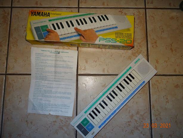 YAMAHA organy Porta Sound PSS 20