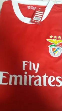 Tshirt e cachecol Benfica